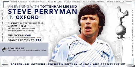 An Evening with Spurs & England Legend Steve Perryman tickets