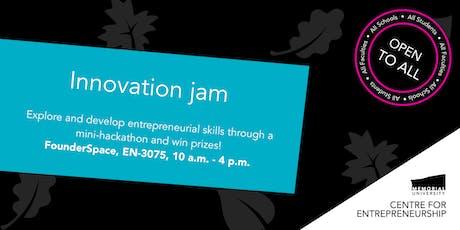 Innovation jam tickets
