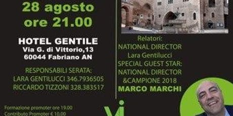 FABRIANO - The Challenge, la sfida dei 90 giorni! biglietti