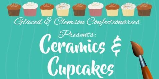 Ceramics & Cupcakes (Clemson)