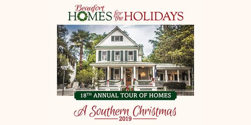 TOURS – Beaufort Homes for the Holidays