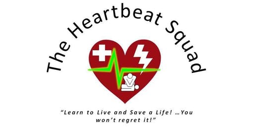 AHA Heartsaver Class - First Aid/CPR/AED  (Class on September 24, 2019)