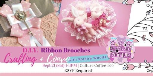 D.I.Y. Ribbon Brooches - JFashion Coord Hack
