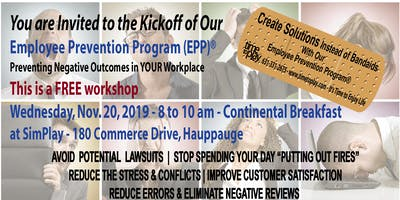Employee Prevention Program(r) Kickoff - Free Workshop & Breakfast