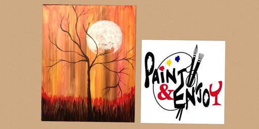 """Paint and Enjoy-Rustic Cup, East Prospect """"Fall days"""""""