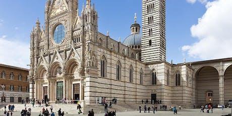 Vrouwen met een Visie. De tien sibyllen: de ontwikkeling van heidense vrouwen in het christendom en hun prominente rol in de Duomo van Siena tickets