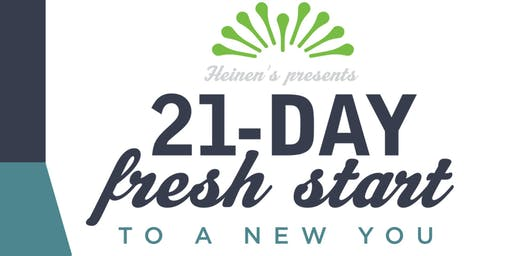21 Day Fresh Start to a New You