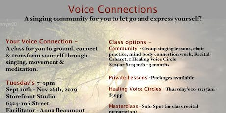VOICE Connections tickets