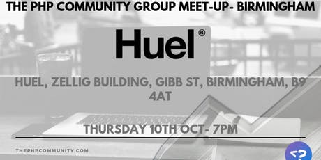 The PHP Community Group Meet-up- Birmingham tickets