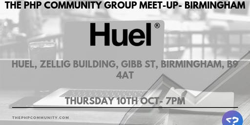 The PHP Community Group Meet-up- Birmingham