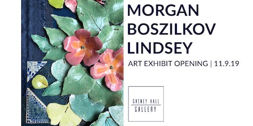 Gainey Hall Gallery Opening | Morgan Boszilkov Lindsey