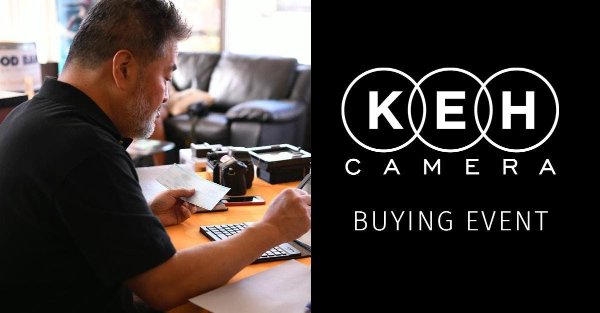 Upcoming Local Buying Events Schedule at KEH Camera
