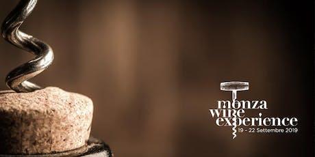 MONZA WINE EXPERIENCE | Dal 19 al 22 settembre biglietti