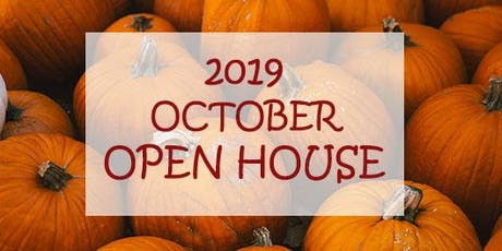 October Open House tickets