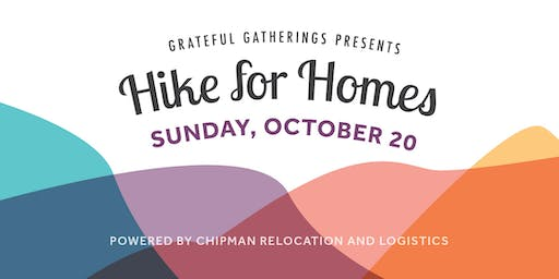 Grateful Gatherings Hike for Homes