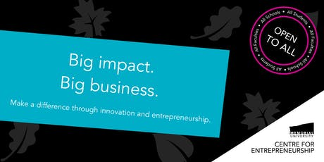 Big impact. Big business. tickets
