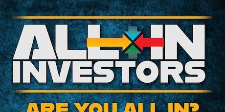 "All In Investors ""Creative Financing"" Showcase tickets"