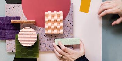 Surface Matter x Adriana Jaroslavsky Moodboard Workshop | Proud Materialists LDF19