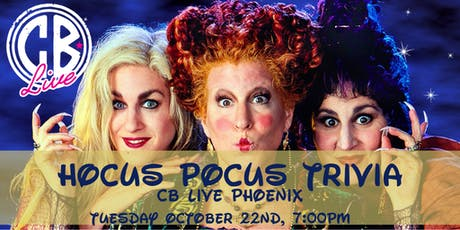 Hocus Pocus Trivia at CB Live Phoenix tickets