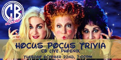 Hocus Pocus Trivia at CB Live Phoenix
