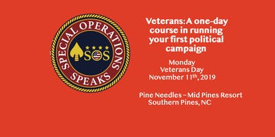 Veterans: A one-day course in running your first political campaign