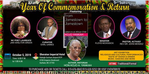 400th Anniversary:  Year of Commemoration and Return