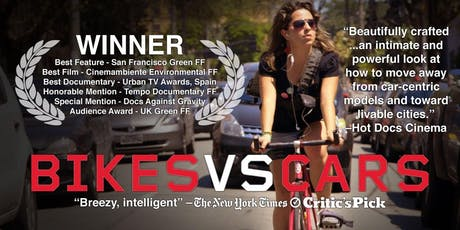 Falkirk Climate Week - Movie Night - Bike VS Cars (+ Free buffet) tickets
