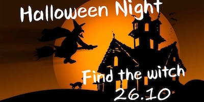 Halloween Night - FIND THE WITCH