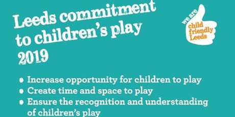 Leeds Commitment to Children's Play Workshop tickets