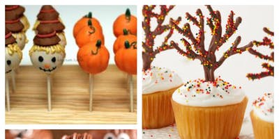 Children's Fall cupcake and cake pop decorating class