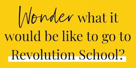 Revolution School Program Preview tickets