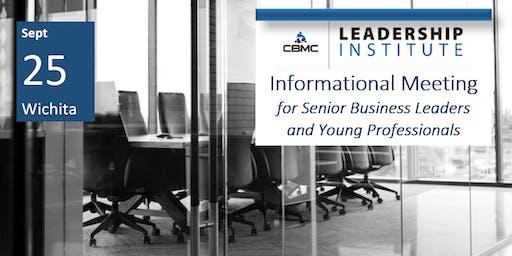 CBMC Wichita Leadership Institute Informational Meeting