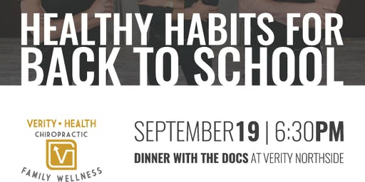 Healthy Habits For Back To School