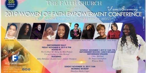 VENDOR REGISTRATION: 2019 Women of Faith Empowerment Conference