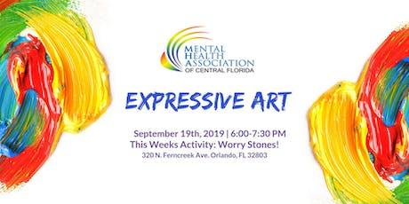 Expressive Art: Worry Stones! tickets