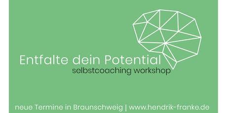 Entfalte dein Potential | selbstcoaching workshop Tickets