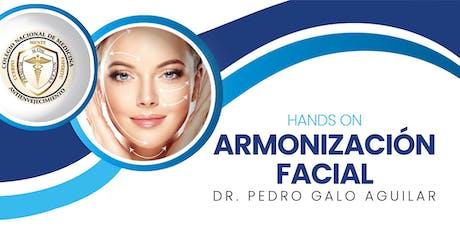 Curso Hands On de Bioestimulación y Rejuvenecimiento Facial entradas