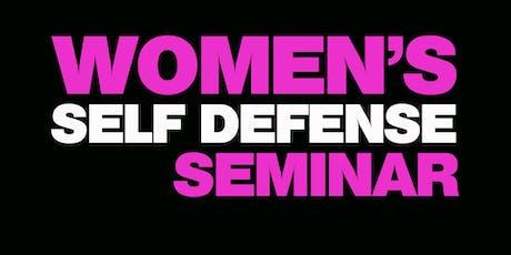 Women's Self Defense Seminar Southern Pines - Carjacking/Parking Lot tickets