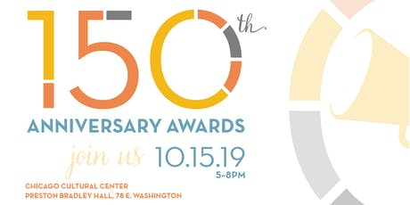 150th Anniversary Awards tickets