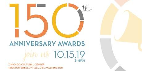 150th Anniversary Awards tickets