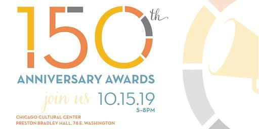 150th Anniversary Awards