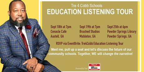 Tre4Cobb Schools Education Listening Tour (Powder Springs) tickets