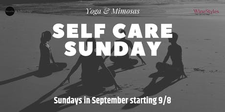 Yoga & Mimosa - Self Care Sunday tickets