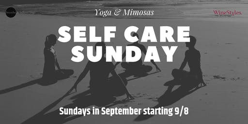 Yoga & Mimosa - Self Care Sunday