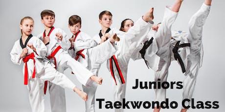 Juniors Taekwondo Class tickets