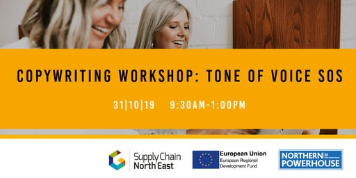 Copywriting Workshop: Tone of Voice SOS