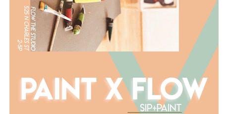 Paint & Flow tickets