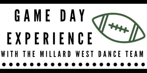 Game Day Experience with the Millard West Dance Team