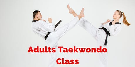 Adults Taekwondo Class tickets