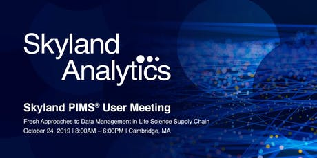 Skyland PIMS® User Conference tickets